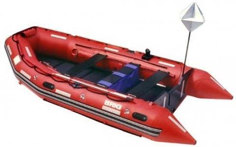 Лодка BRIG Rescue 420 C6
