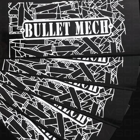 The Bullet Mech Mod V2 Juma military green & naval brass