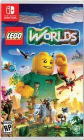 LEGO Worlds (Nintendo Switch, русская версия)