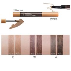 Тушь- карандаш для бровей THE SAEM Eco Soul Brow Pencil Mascara 01 Light Brown 0,2 гр