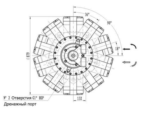 Гидромотор IPM11-11500