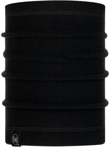 Шарф-труба флисовый детский Buff Solid Black фото 1