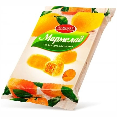 Мармелад АПЕЛЬСИН 300 г АКФ РОССИЯ