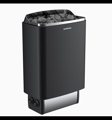 SENTIOTEC Электрическая печь 100 series, black, 4.5 кВт