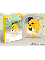 Конструктор LNO Большой яичный желток 1300 деталей NO. 185 Big egg yolk man Gift Series