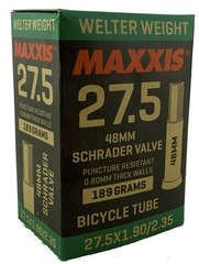 Велокамера Maxxis Welter Weight 27.5x1.90/2.35 SV48 Авто ниппель 48 мм