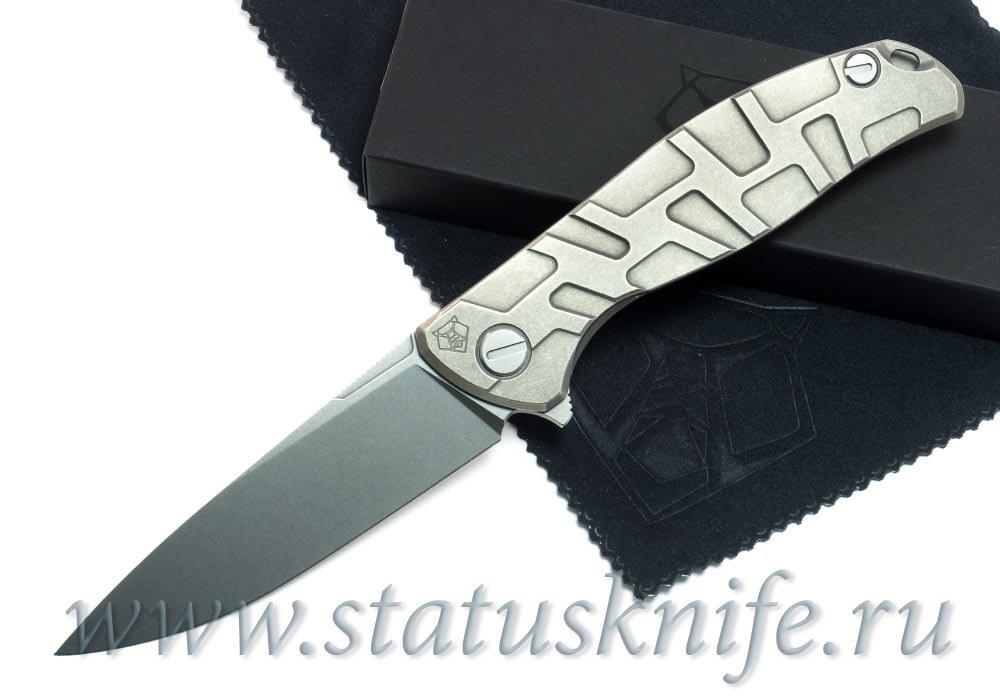 Нож Широгоров Flipper 95 R  T-узор М390 mrbs