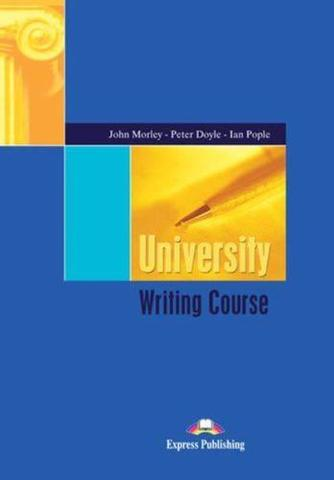 university writing course. book with answers. с ключами