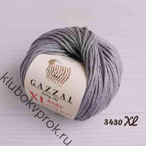 GAZZAL BABY COTTON XL 3430XL, Светлый серый