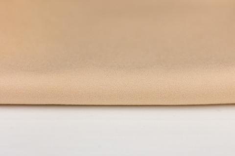 Тканина для тіла ляльки Let's make Відріз 50х45 см трикотаж ляльковий преміум, бежевий