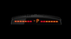 Парктроник 4Drive 4Z-51/M40 SL Main с 4-мя датчиками серебристого цвета