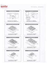 Варочная панель Simfer H60Q41M411 - схема