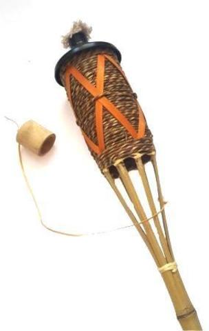 Факел бамбуковый садовый на масле Б-03