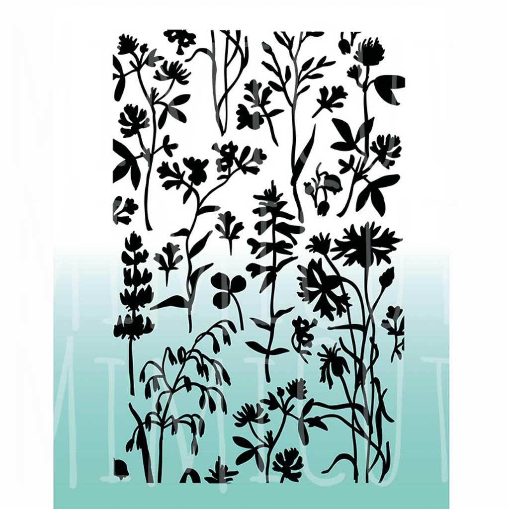 Папка для тиснения «Ботаника»