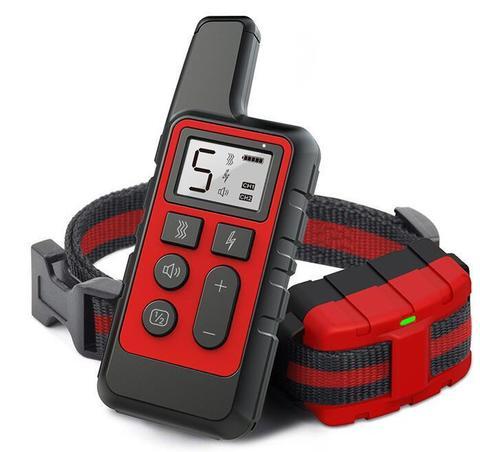 Электронный ошейник для дрессировки PET-500 Красный