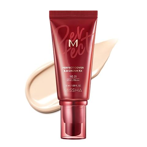 MISSHA M #22 Perfect Cover BB Cream Rx SPF42 PA+++