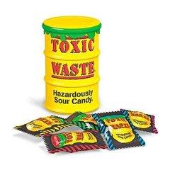 Кислые леденцы Toxic Waste Yellow 42 гр