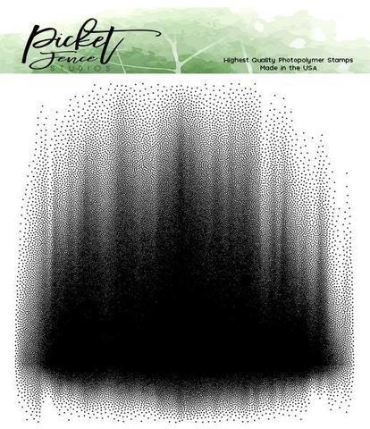 Штамп -Picket Fence Studios - Highest Quality Photopolymer Stamp - Aurora Borealis