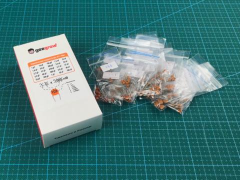 Набор керамических конденсаторов (1pF - 100nF) 25 номиналов по 10шт