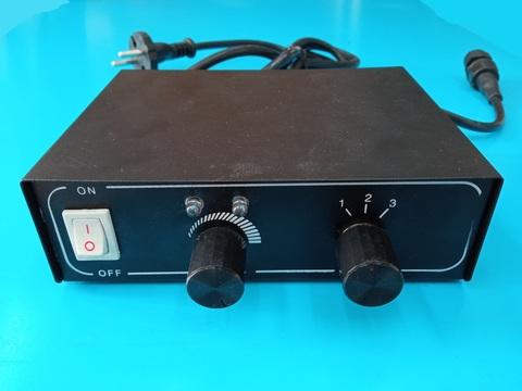 Контроллер для дюралайта 3-х жильный, диаметр 13мм, 8 режимов, IP23, Черный