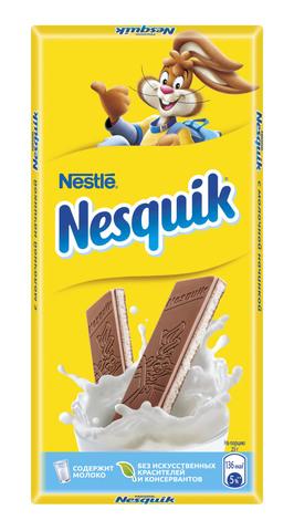 """Шоколад """"Nesquik"""" с молочной начинкой 90г"""