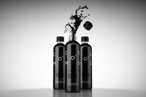 Вода минеральная COSMOS черная, 500 мл (НАТУРАЛИТИ)