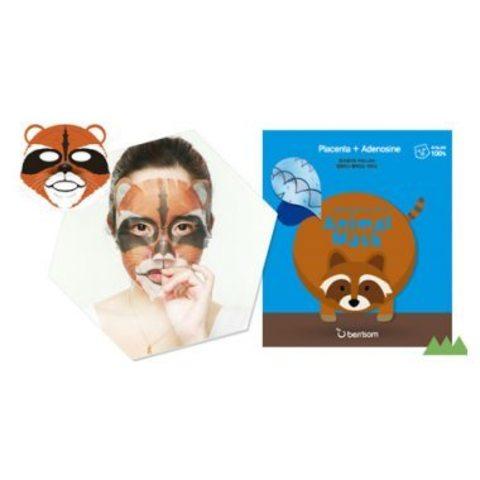 Animal mask series - raccoon