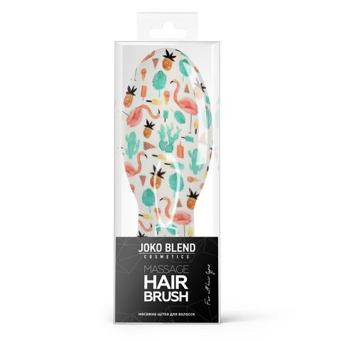 Масажна щітка для волосся Summer Sparkle Hair Brush Joko Blend (1)