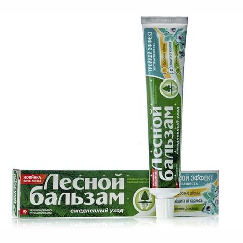Зубная паста ЛЕСНОЙ БАЛЬЗАМ Мята Смородина 75 мл РОССИЯ