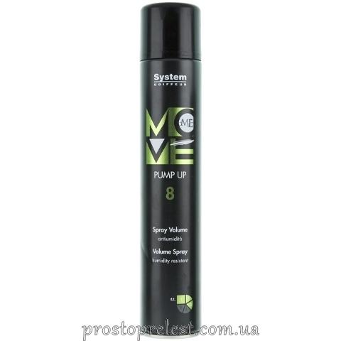 Dikson Move Me 8 Pump Up - Лак-спрей для объема волос