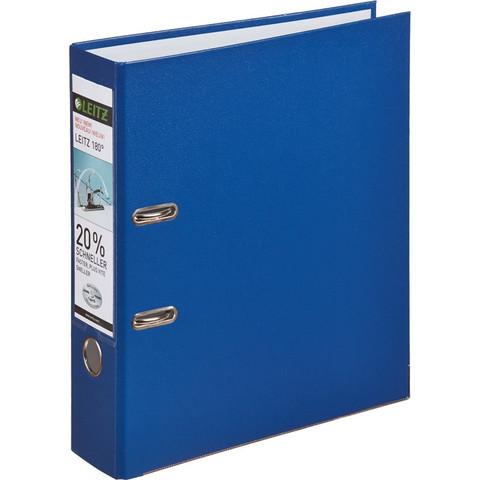 Папка-регистратор Leitz 180° 80 мм синяя