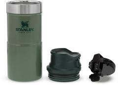 Термостакан Stanley Classic Trigger Action 0,35L One hand 2.0 Зеленая - 2