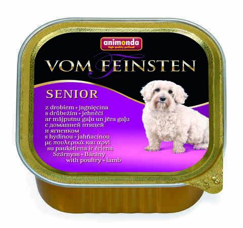 Vom Feinsten Senior с мясом домашней птицы и ягненком для собак старше 7 лет