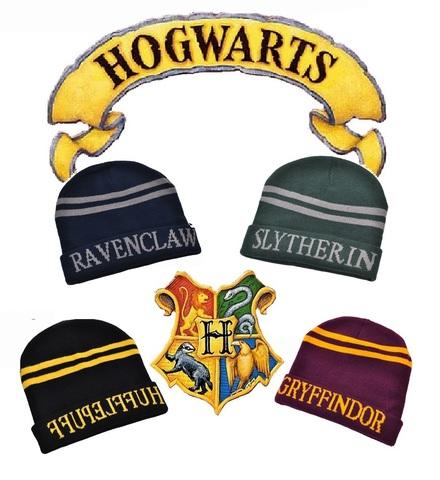 Шапка демисезонная Гарри Поттер Хогвартс