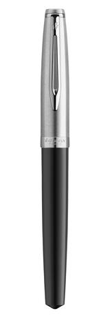 Перьевая ручка/EMBLM BLACK CT FP F GB 1 шт123