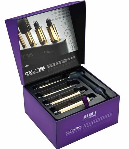 Набор сменных стайлеров CurlBar 24K Gold 19, 25, 32, 38 мм