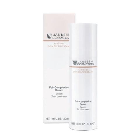 Интенсивно осветляющая сыворотка для всех типов кожи Fair Complexion Serum, Fair skin, Janssen Cosmetics, 30 мл