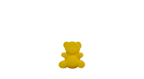 Игрушка желтобрюх жёлтый медведь