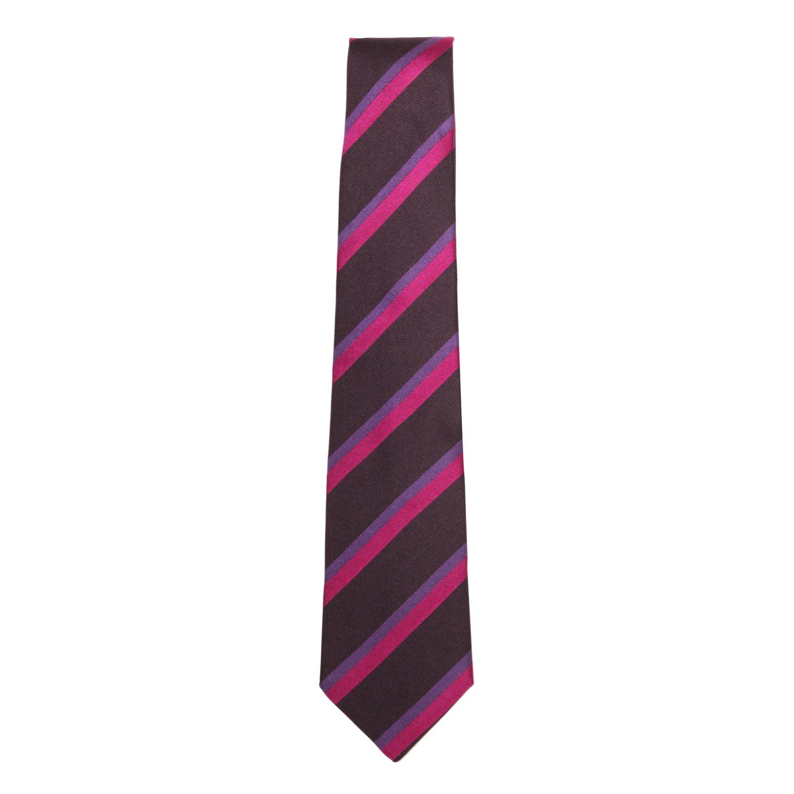Галстук. Цвет серый/фиолетовый ETRO