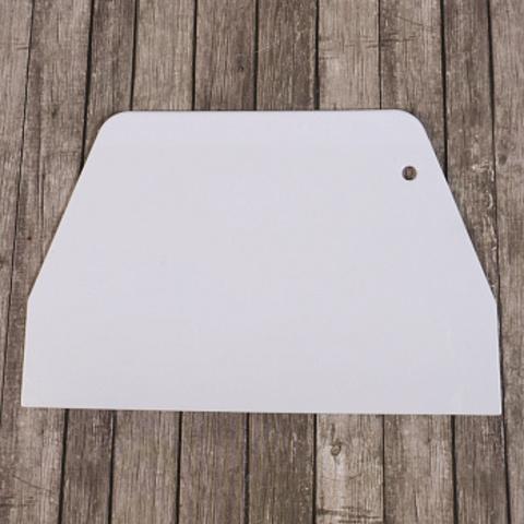 Кондитерский шпатель пластиковый большой 193*127 мм