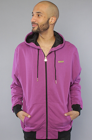 Толстовка фиолетовая на молнии фото 1