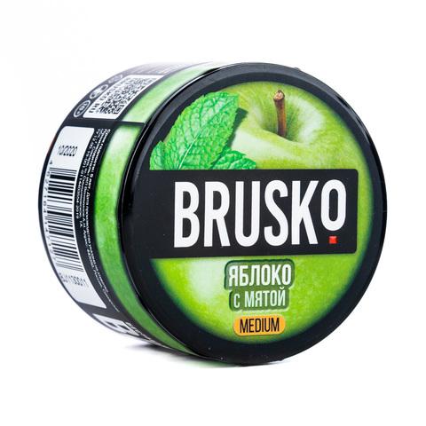 Кальянная смесь BRUSKO 50 г Яблоко с Мятой
