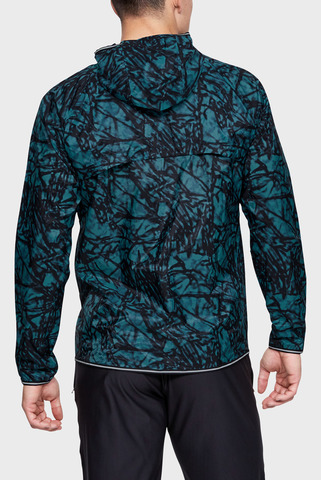 Мужская ветровка с принтом UA QUALIFIER STORM GLARE PACKABLE JACKET Under Armour