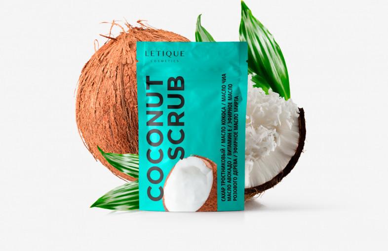 Скраб Letique Cosmetics Coconut Scrub 250 г.