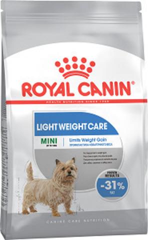 Royal Canin Mini Light Weight Care сухой корм для собак мелких пород, предрасположенных к избыточному весу