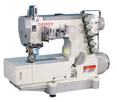 Фото: Плоскошовная промышленная машина Gemsy GEM 5500D-01 (5,6 мм)