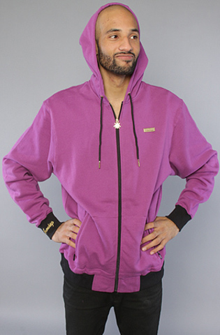 Толстовка фиолетовая на молнии фото 2