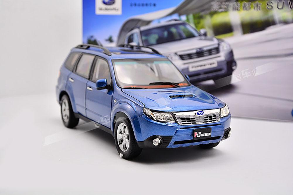 Коллекционная модель Subaru Forester 2010 Blue