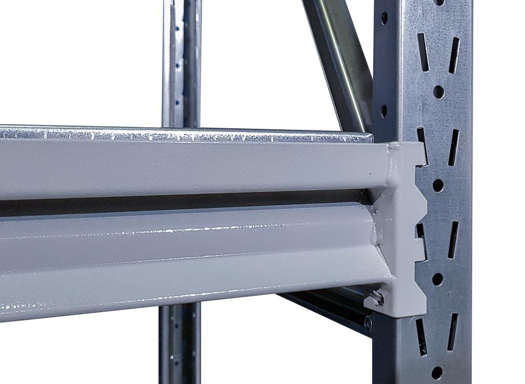Секция продления стеллажа (глубина 400 мм, высота 1500 мм)