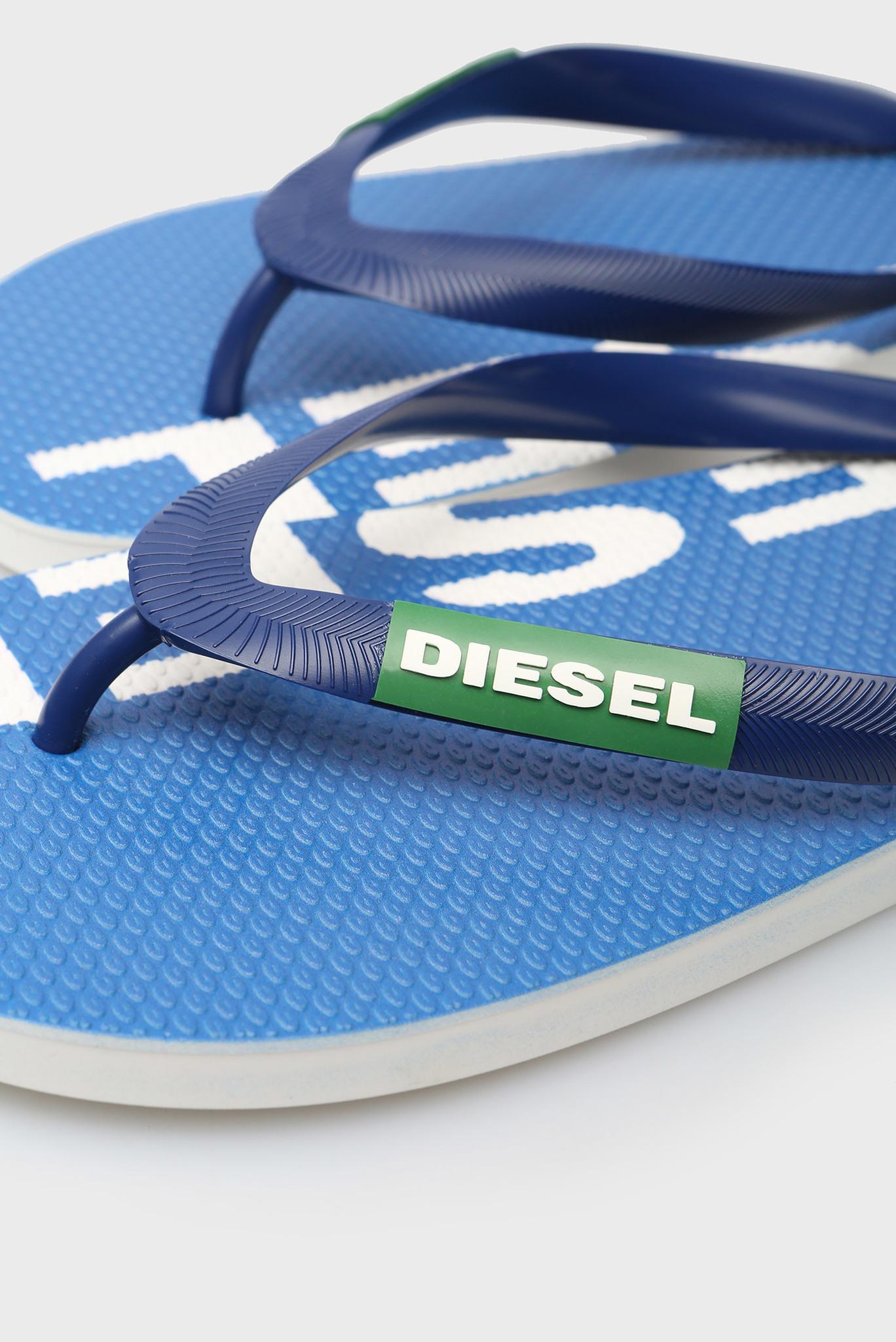 Мужские синие вьетнамки BRIIAN Diesel